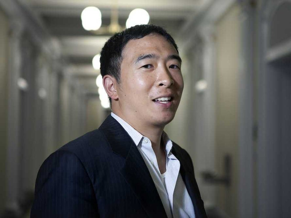 Venture for America founder and CEO Andrew Yang resolves to write more.