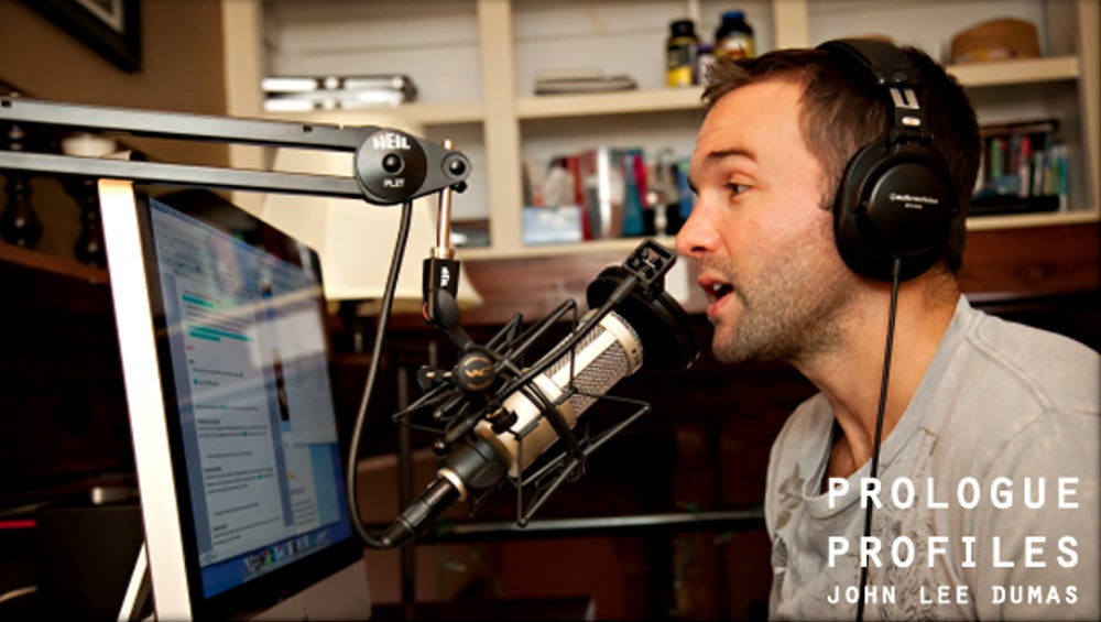 5. John Lee Dumas: Podcast Entrepreneur