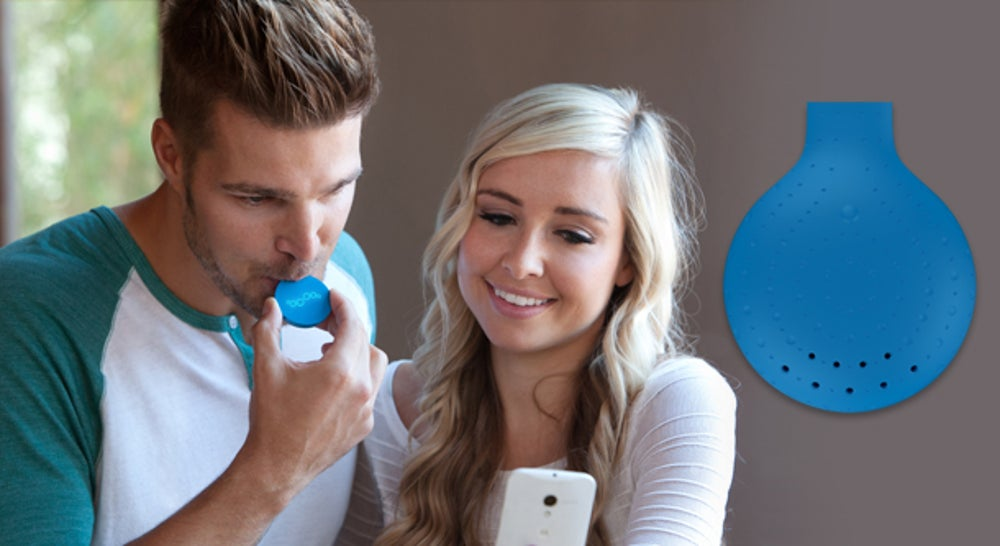 4. Breeze Bluetooth breathalyzer