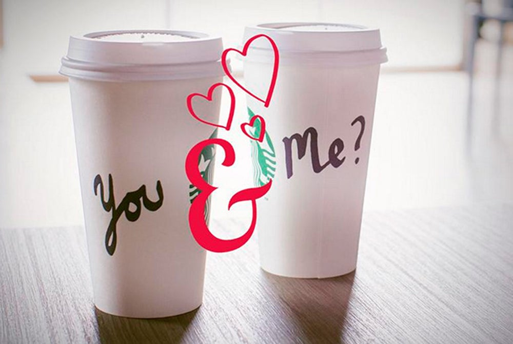 "Partner up for the ""World's Largest Starbucks Date."""