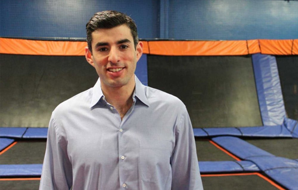 Sky Zone CEO Jeff Platt has learned that you have to slow down sometimes.