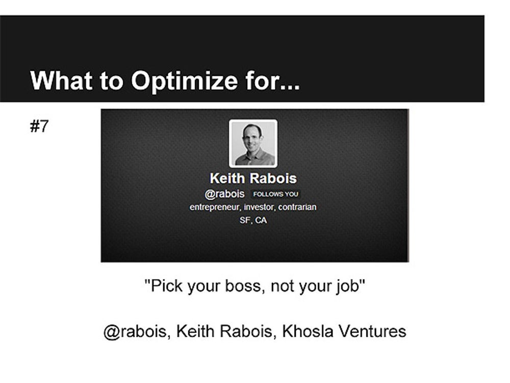 Keith Rabois, Partner at Khosla Ventures