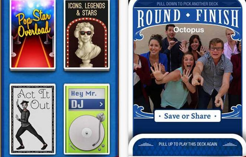 Heads Up is a great party game for your iPhone.
