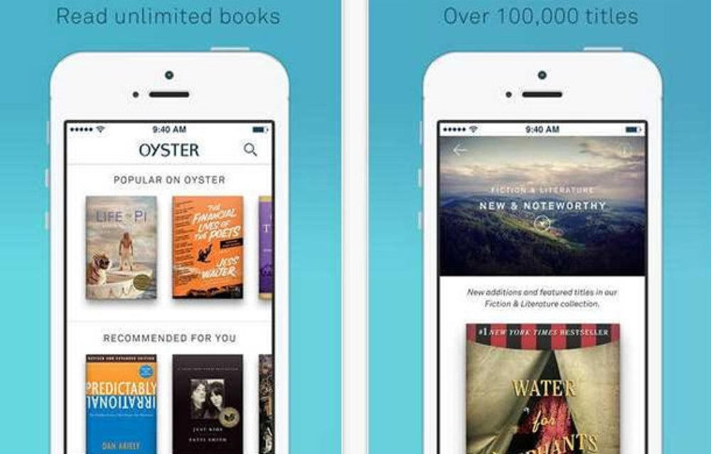 Oyster is an on-demand e-book service every voracious reader should have.