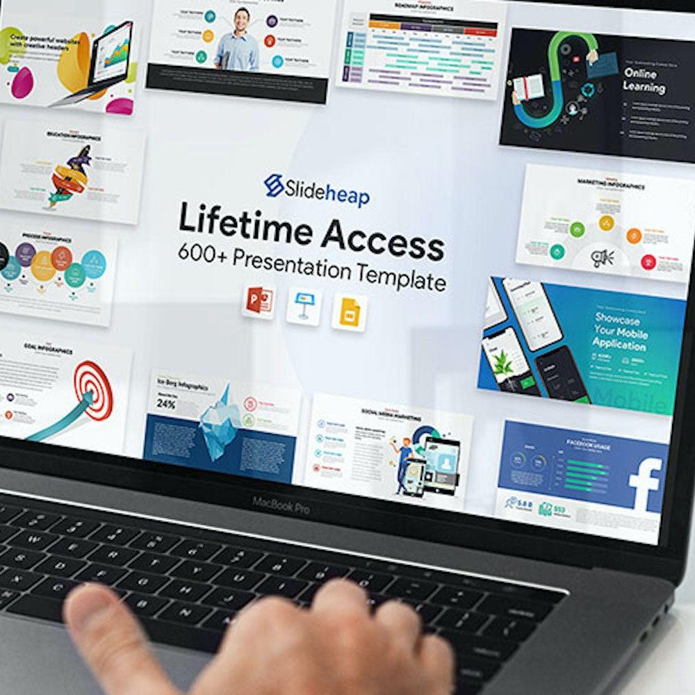 SlideHeap Slide Templates: Professional Plan