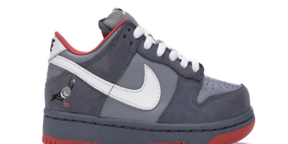 2. Nike Dunk SB Low Staple NYC Pigeon (Más de USD$18,600)