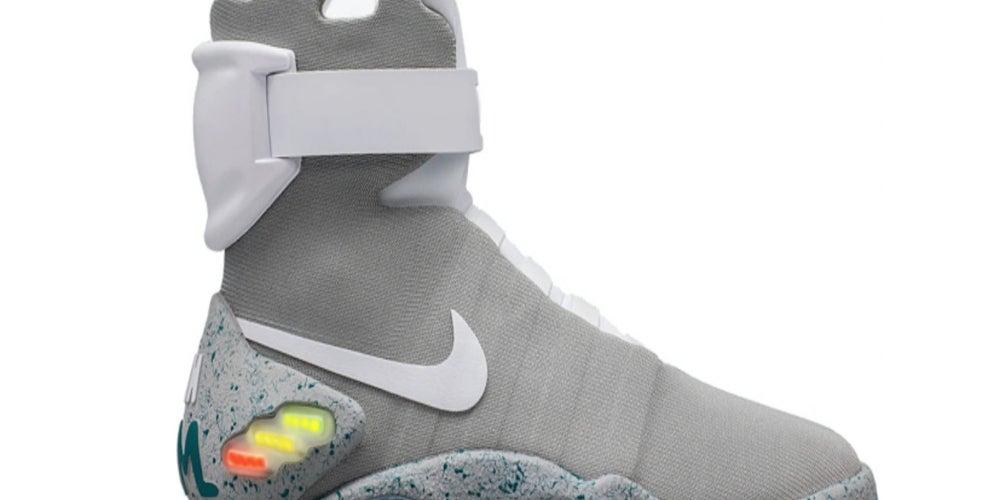1. Nike MAG Back to the Future (2016) Más de $USD56,000)