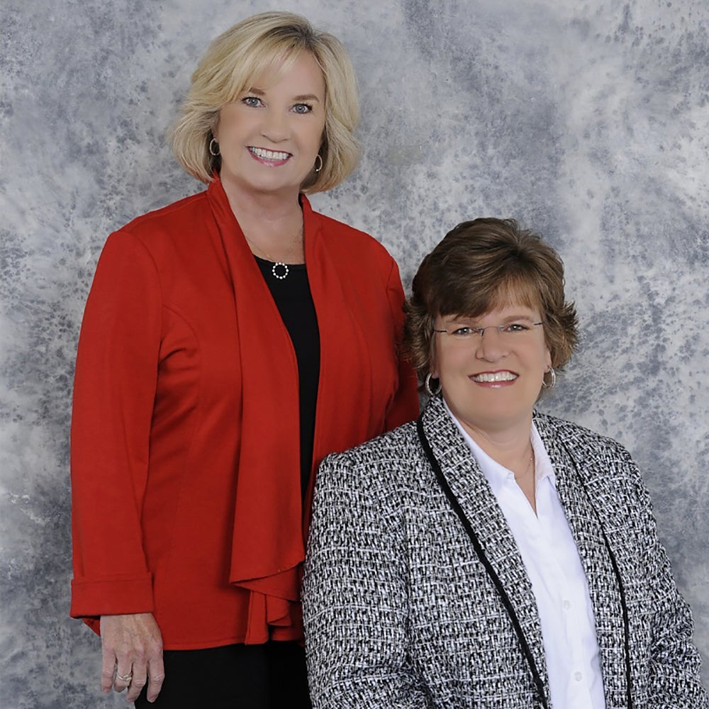 Mary Alice Hughes and Lisa Bamburg of LMA Financial Services