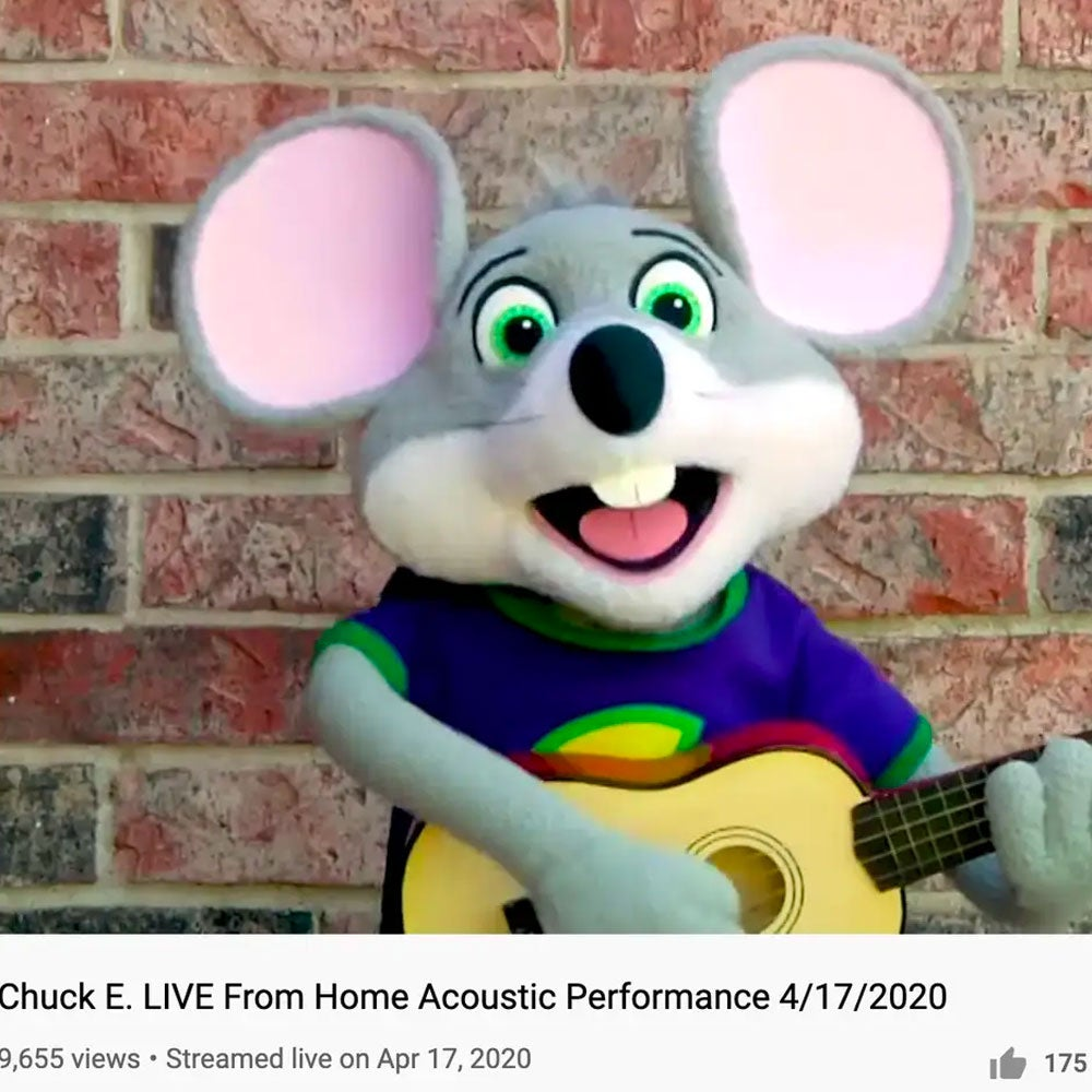 "The coronavirus pandemic hit the chain hard, with sales sinking 21 percent in the first quarter. Chuck E. Cheese has attempted to keep fans engaged with pizza delivery and ""live performances"" from the mascot."