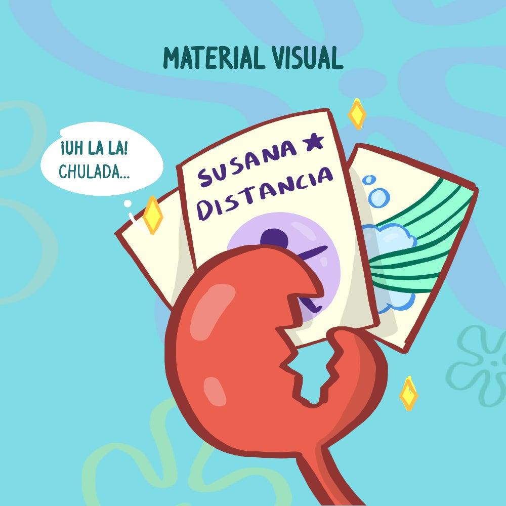 Material visual