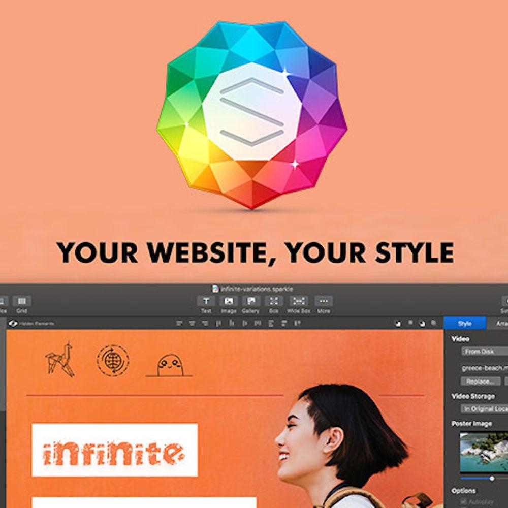 Sparkle Pro Website Builder: Lifetime License