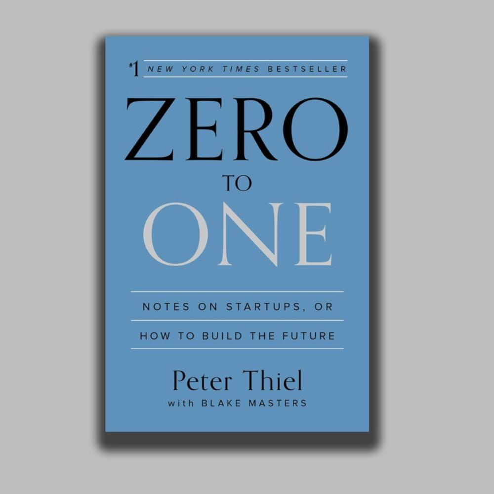 'De cero a uno: Como inventar el futuro'