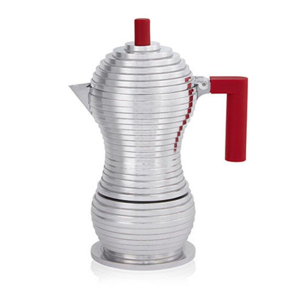 Alessi Pulcina 3-Cup Espresso Maker