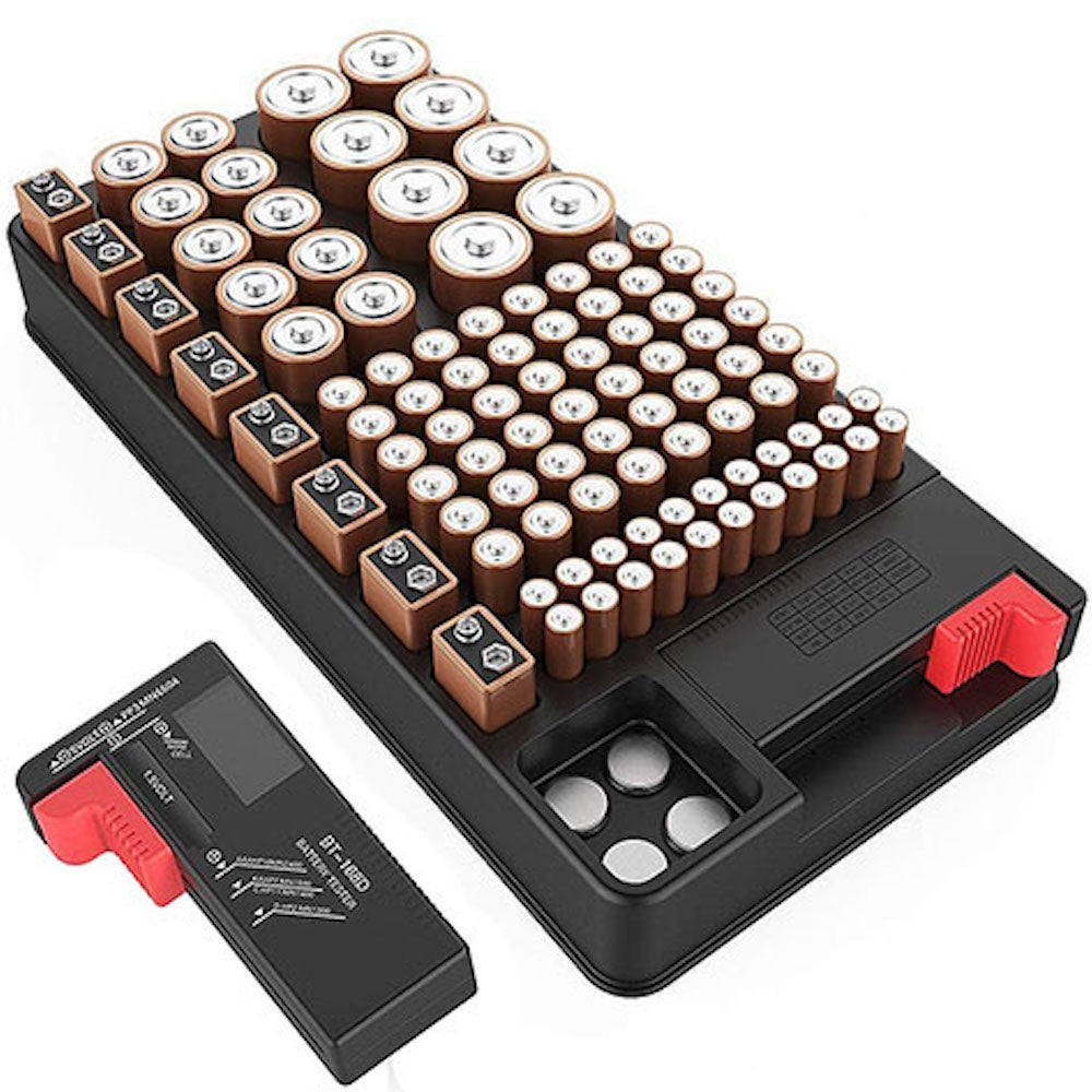 ZeroDark Battery Organizer & Tester