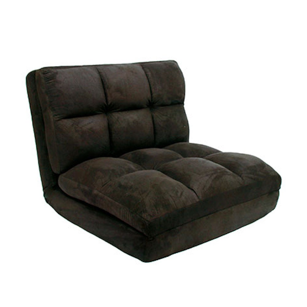 Loungie® Micro-Suede 5-Position Adjustable Modern Flip Chair