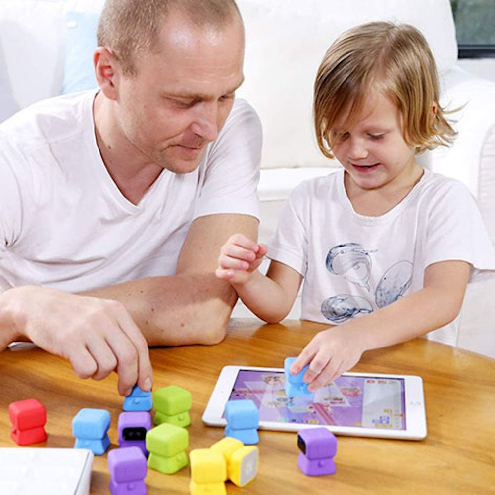 Tangiplay: Tangible Coding Toys + Interactive Puzzles Solving Games for Kids