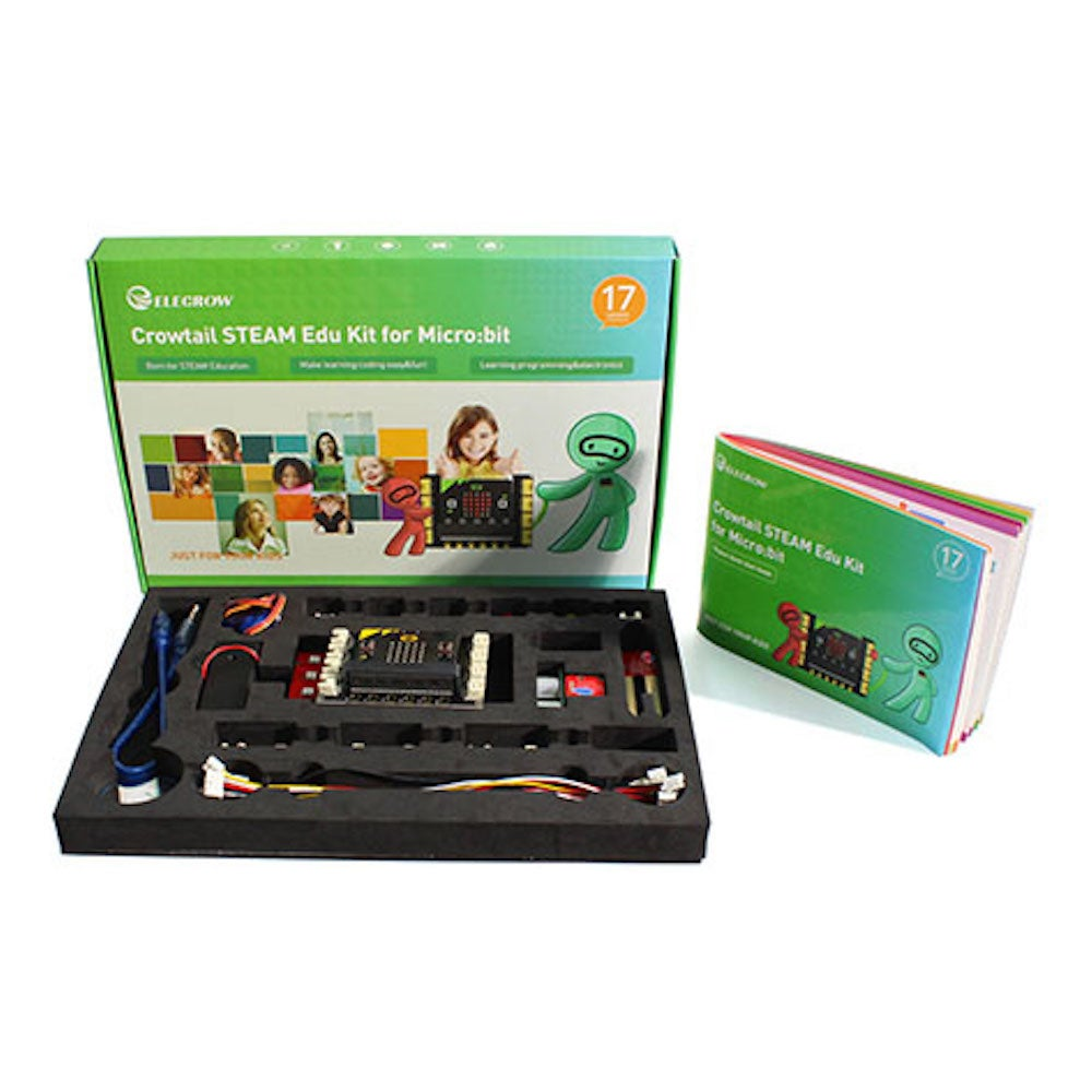 Crowtail STEAM Educational Basic Starter Kit (with Microbit Board and Tutorial)