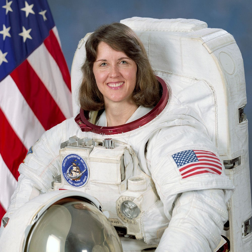 Kathryn C. Thornton, Former Astronaut & Space Foundation Chairwoman