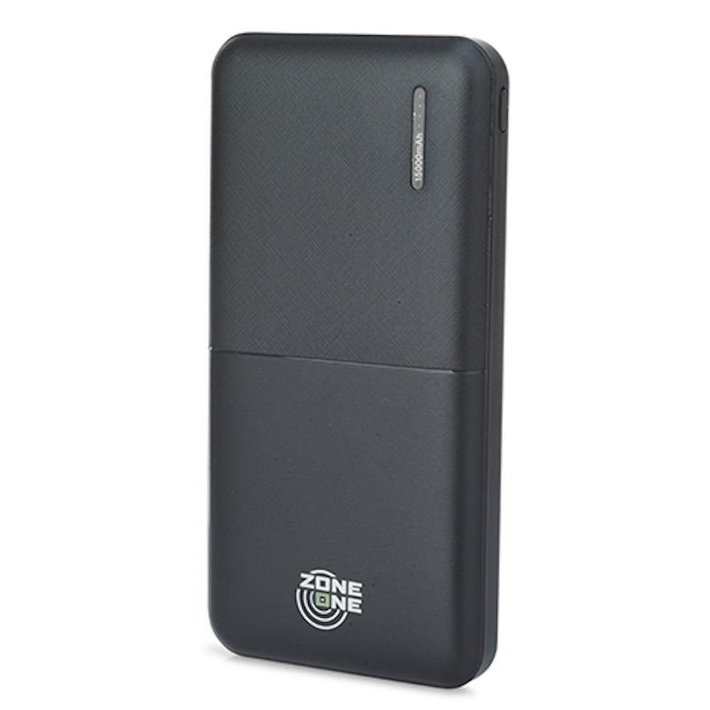 Zone One 15,000mAh Dual-USB Power Bank