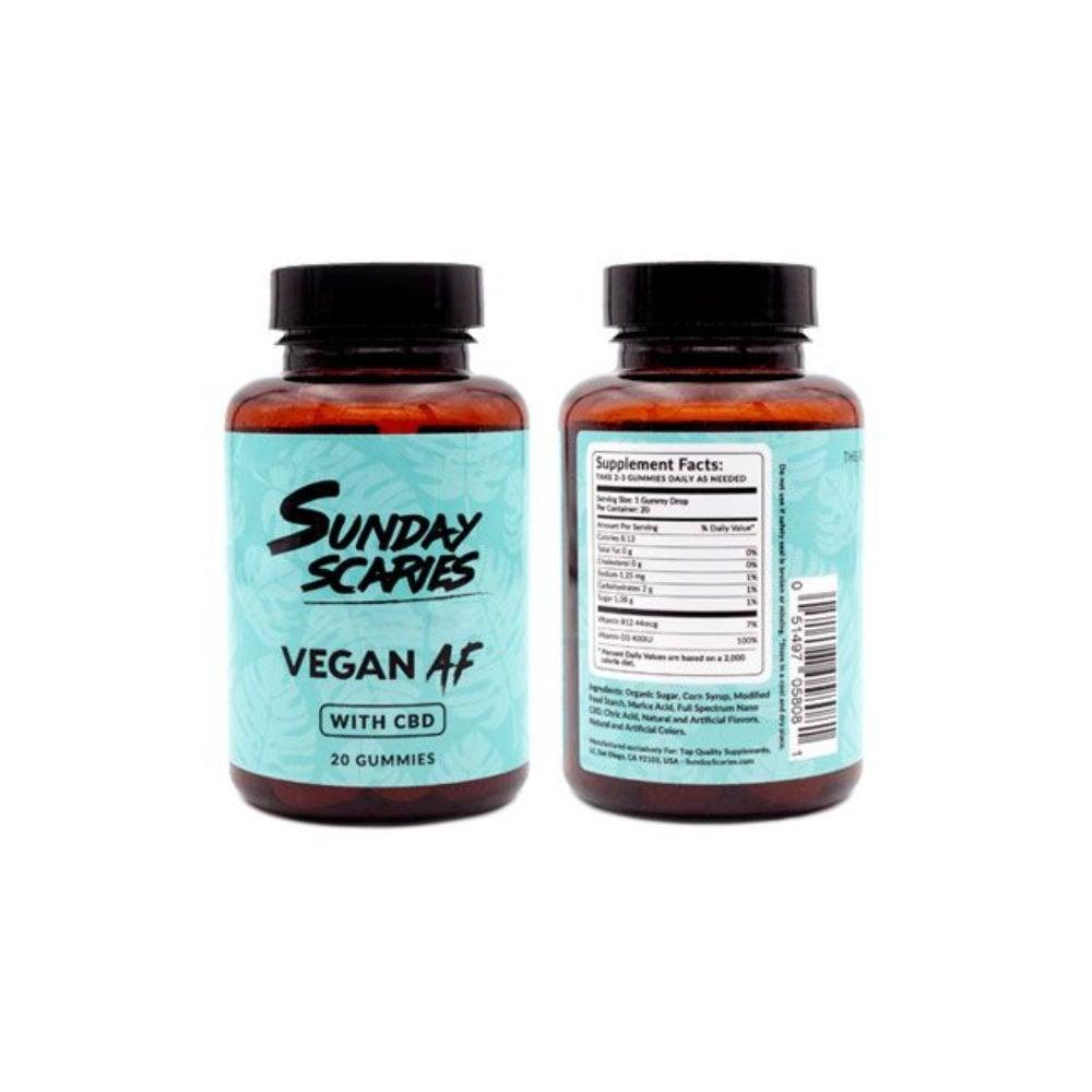Sunday Scaries Vegan AF CBD Gummies
