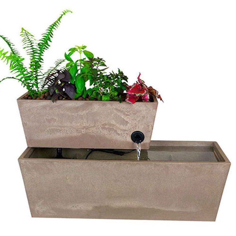 AquaSprouts® Fountain: Aquaponics Water Garden