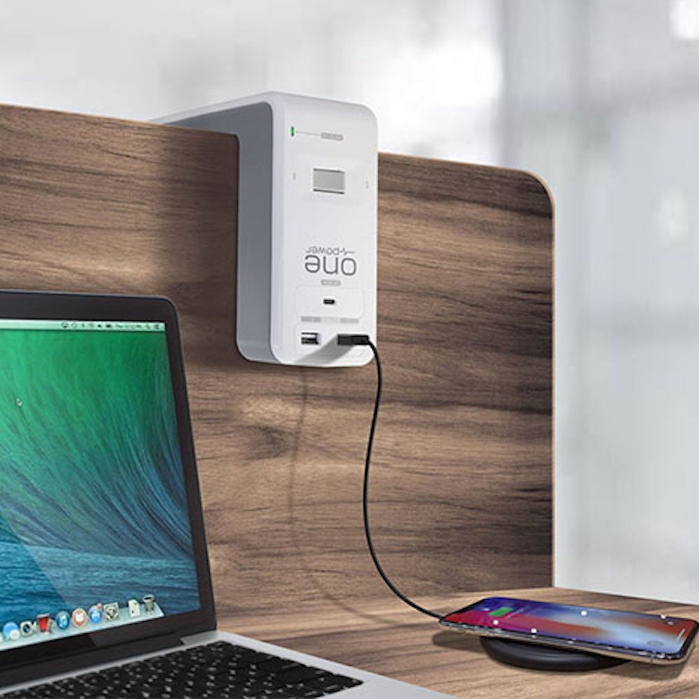 One Power 6-Outlet & 3-USB Ports Desk Surge Protector