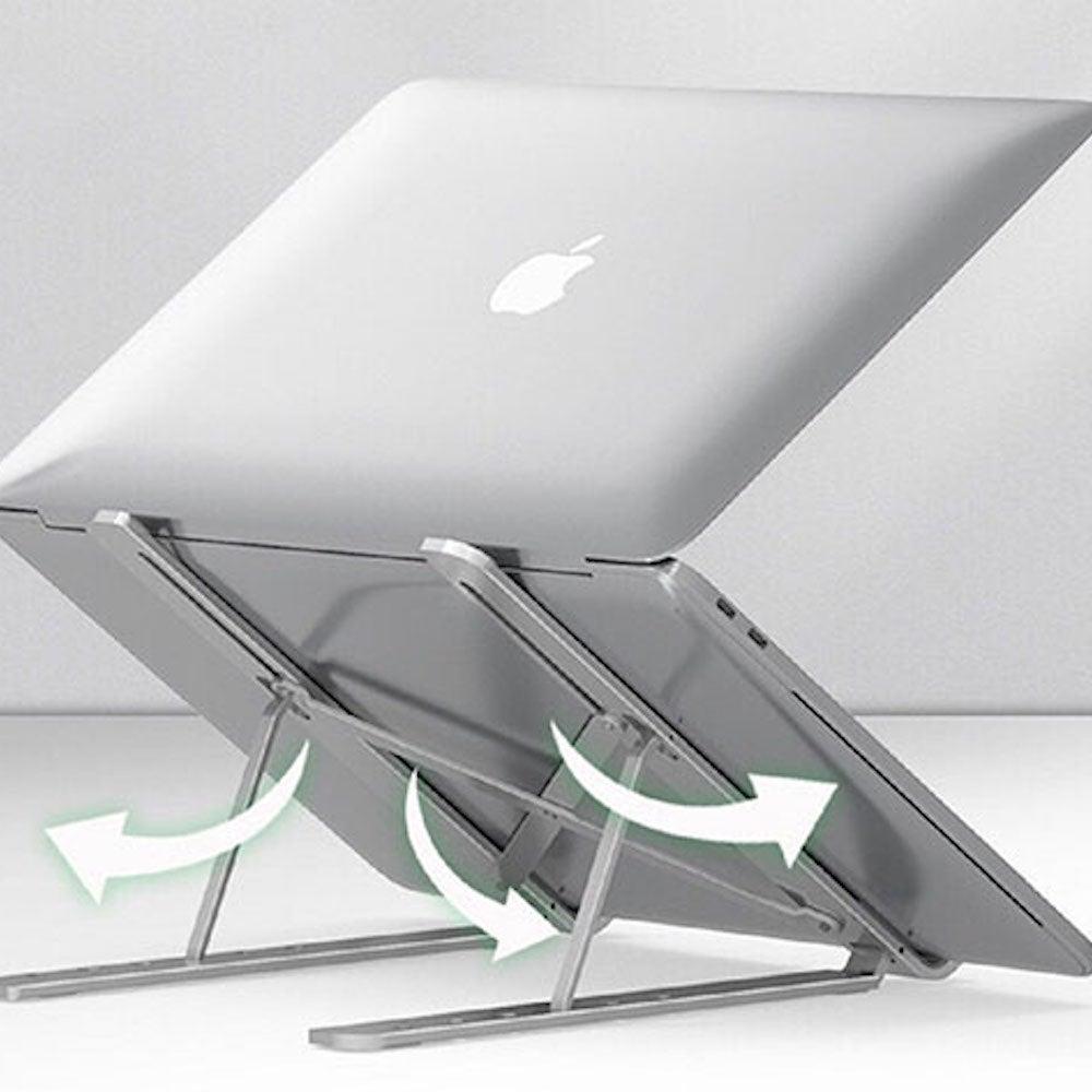 Aluminum Portable Foldable Laptop Stand
