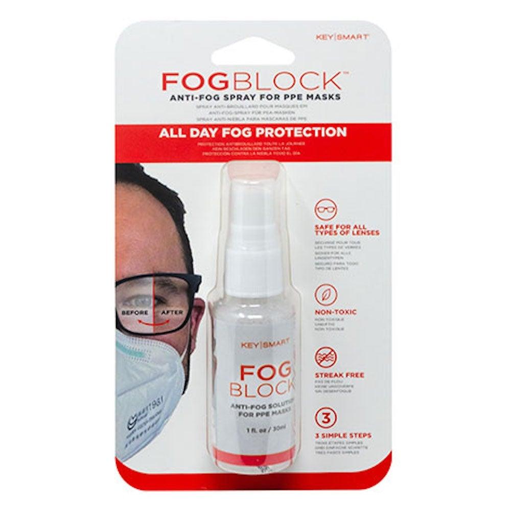 FogBlock™Anti-Fog Solution for PPE Masks & Glasses