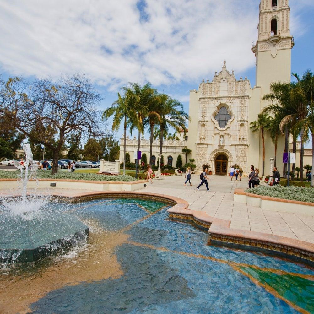 45. University of San Diego