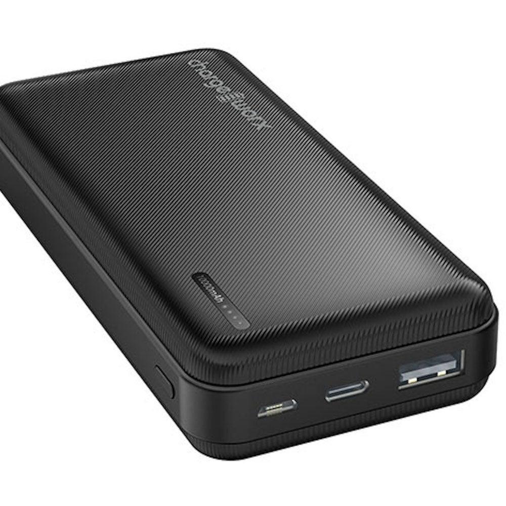 ChargeWorx 10,000mAh Dual USB Slim Power Bank
