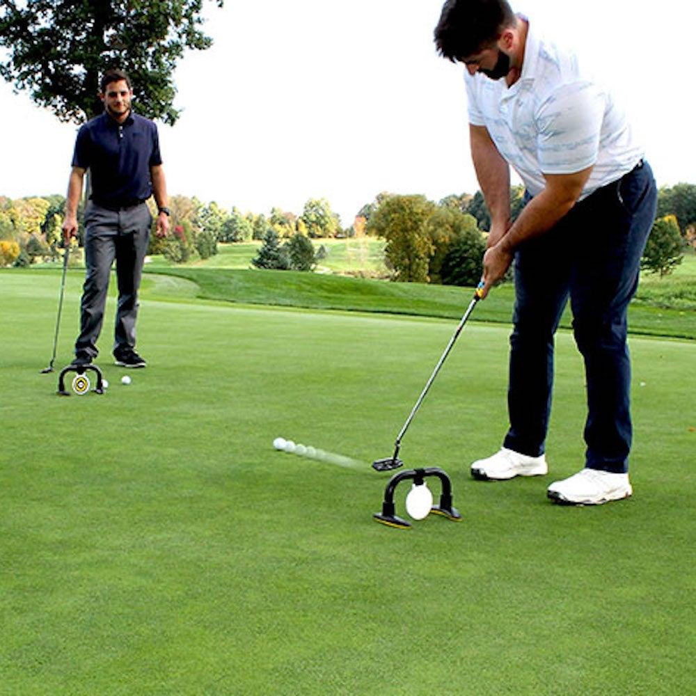 Izzo Golf: Sharp Shooter Putting Trainer & Game Set
