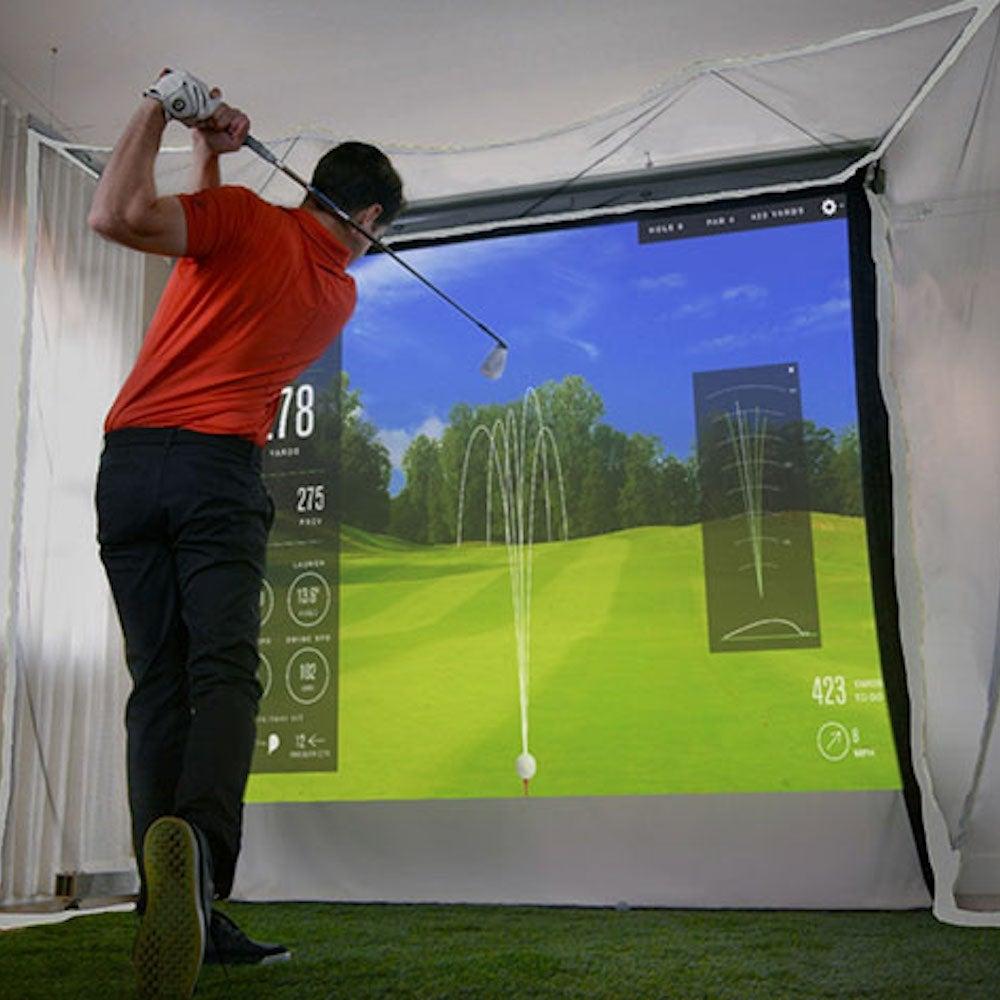 HomeCourse® Indoor Golf Simulator Enclosure