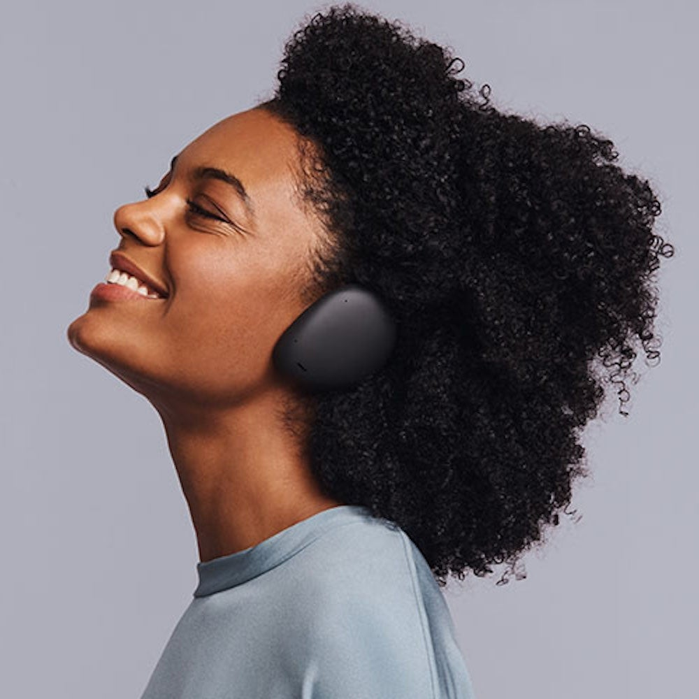 Human Headphones: Hybrid True Wireless Over-Ear Headphones