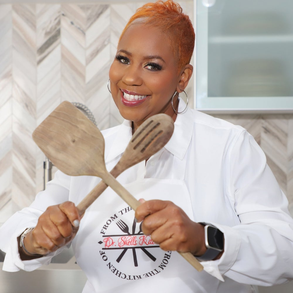"""Chef Michelle Roberts of """"Dr. Shells Soul Food Cooking"""""""