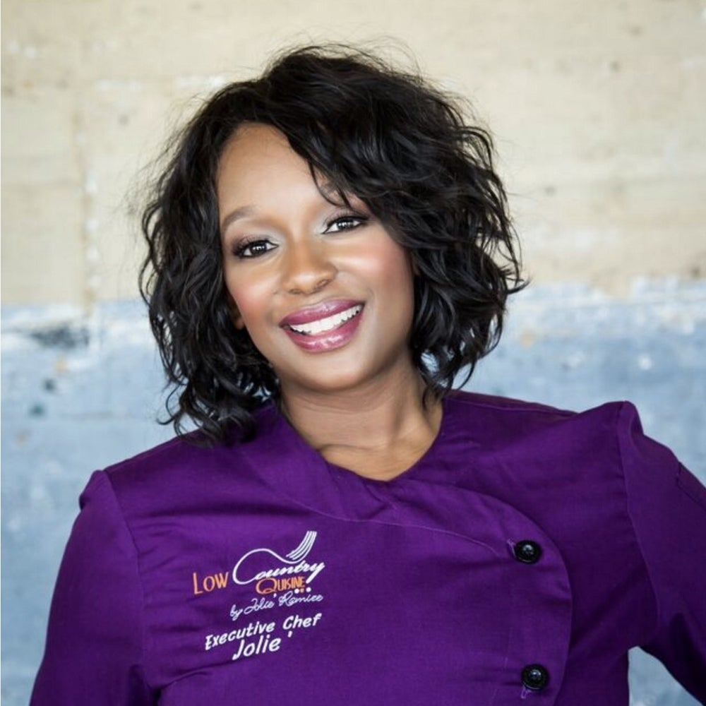 Chef Jolie Oree-Bailey of Low Country Quisine