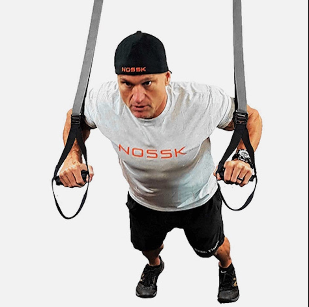 NOSSK TWIN PRO Suspension Fitness Strap Trainer