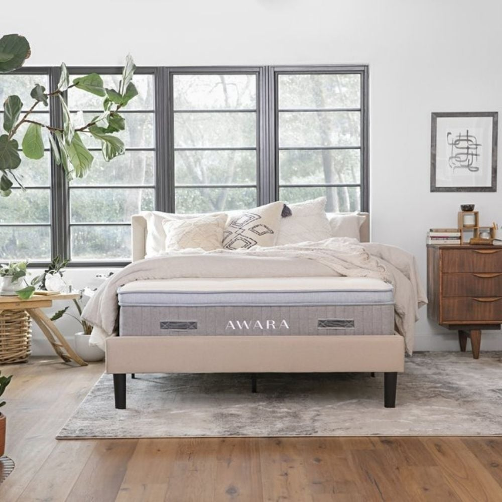 Best Organic Mattress: Awara Organic Luxury Hybrid Mattress ($1,299)