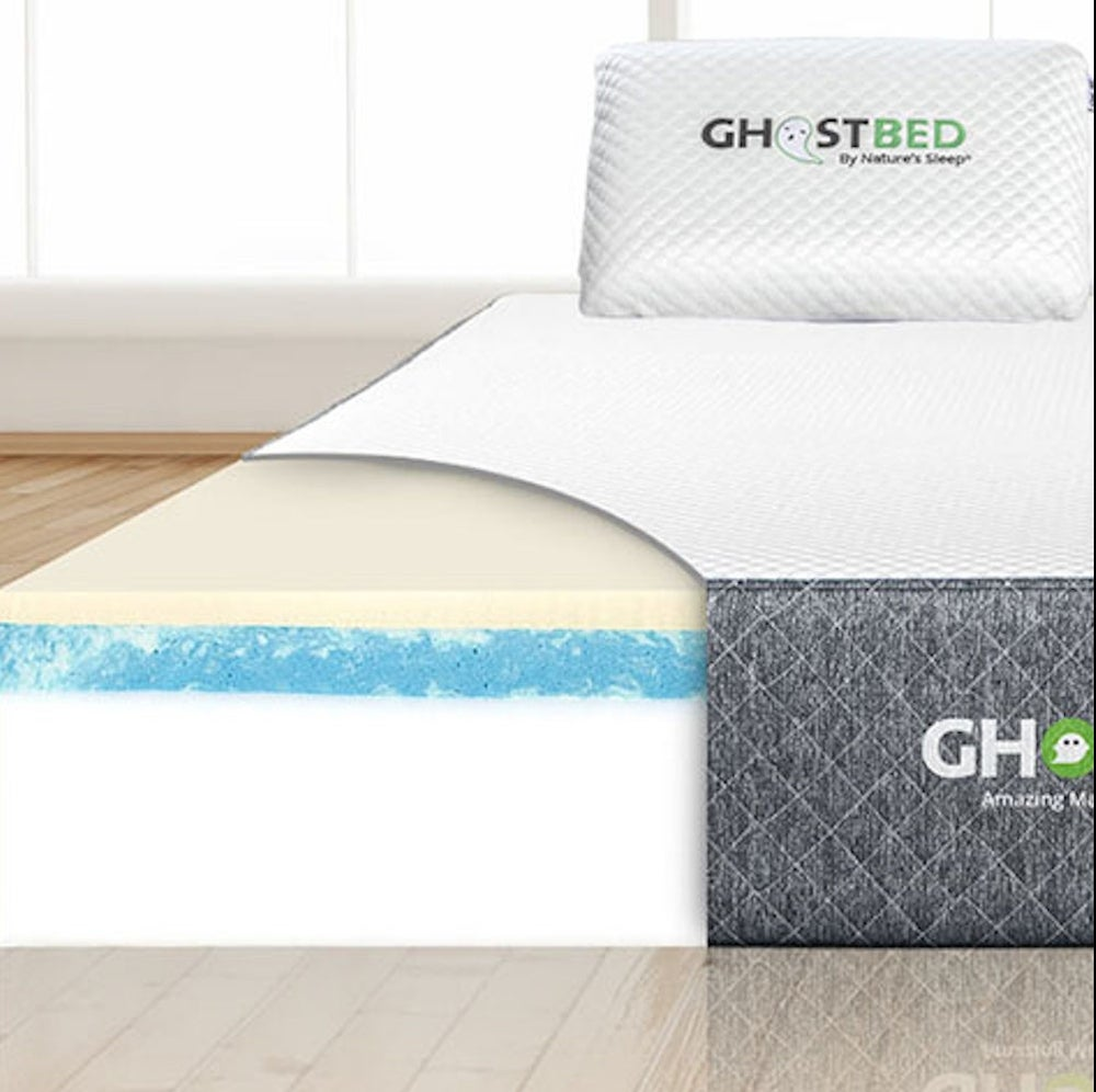 "GhostBed® 11"" Memory Foam Cooling Mattress"