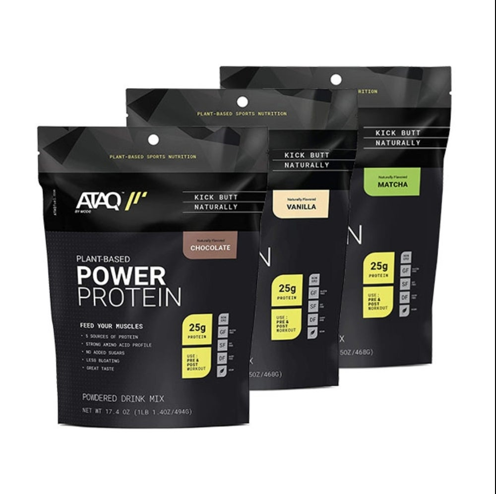 Plant-Based Power Protein Pack