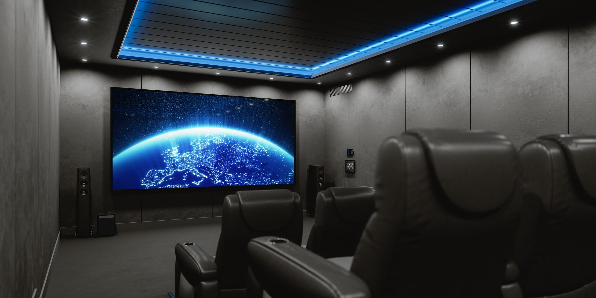 Home theater AV setup
