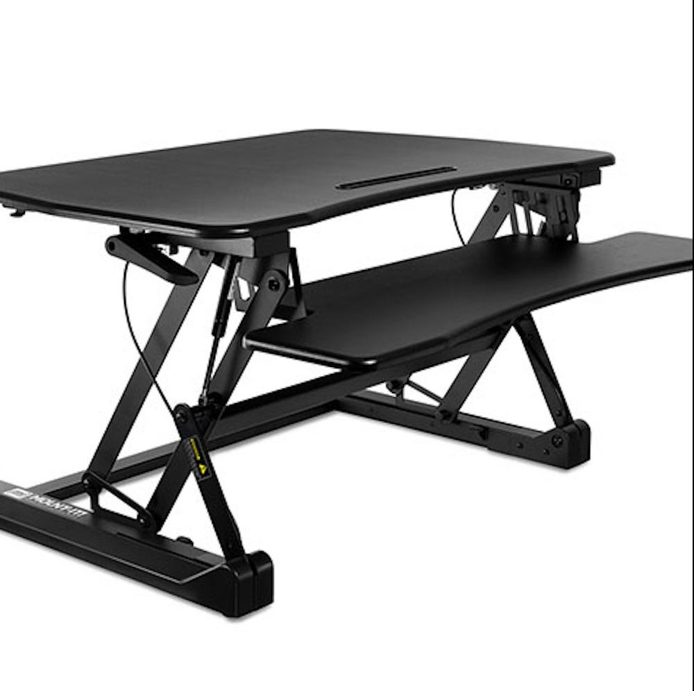 Mount-It! Height Adjustable Sit-Stand Desk Converter