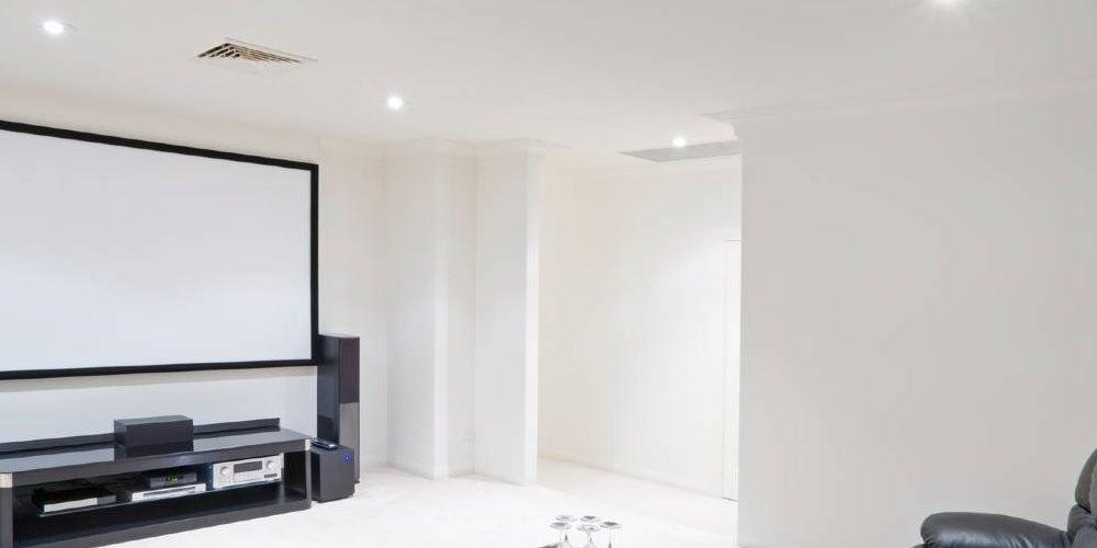 Configuración de cines en casa