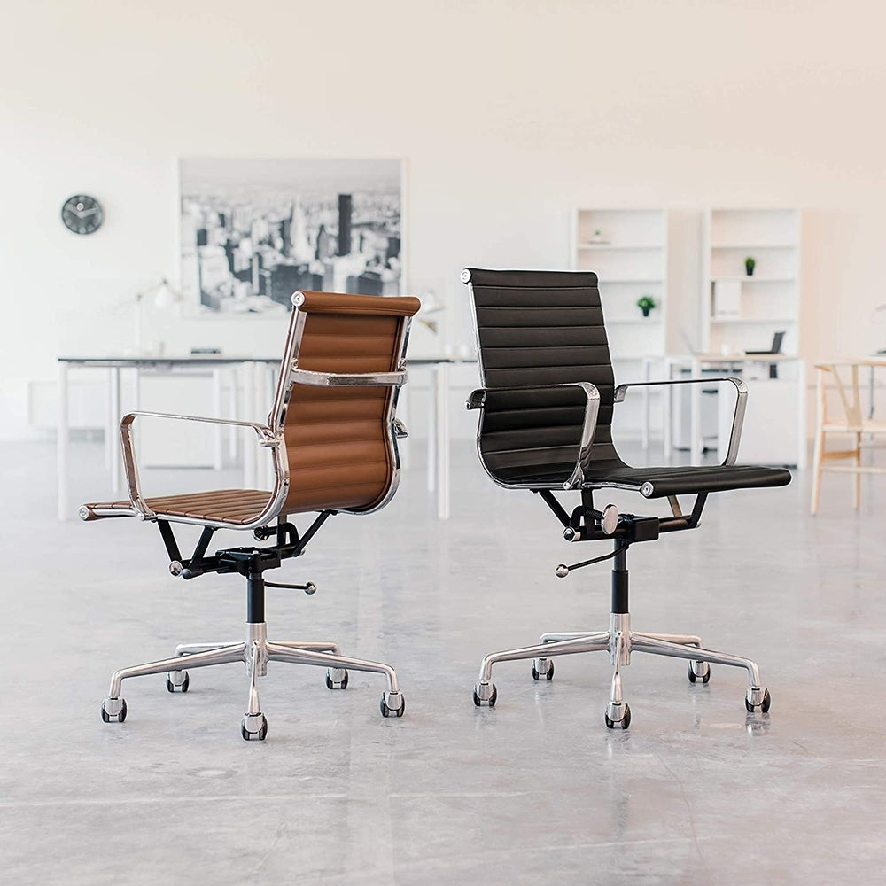 Best for Home: SOHO Ribbed Management Office Chair ($250)