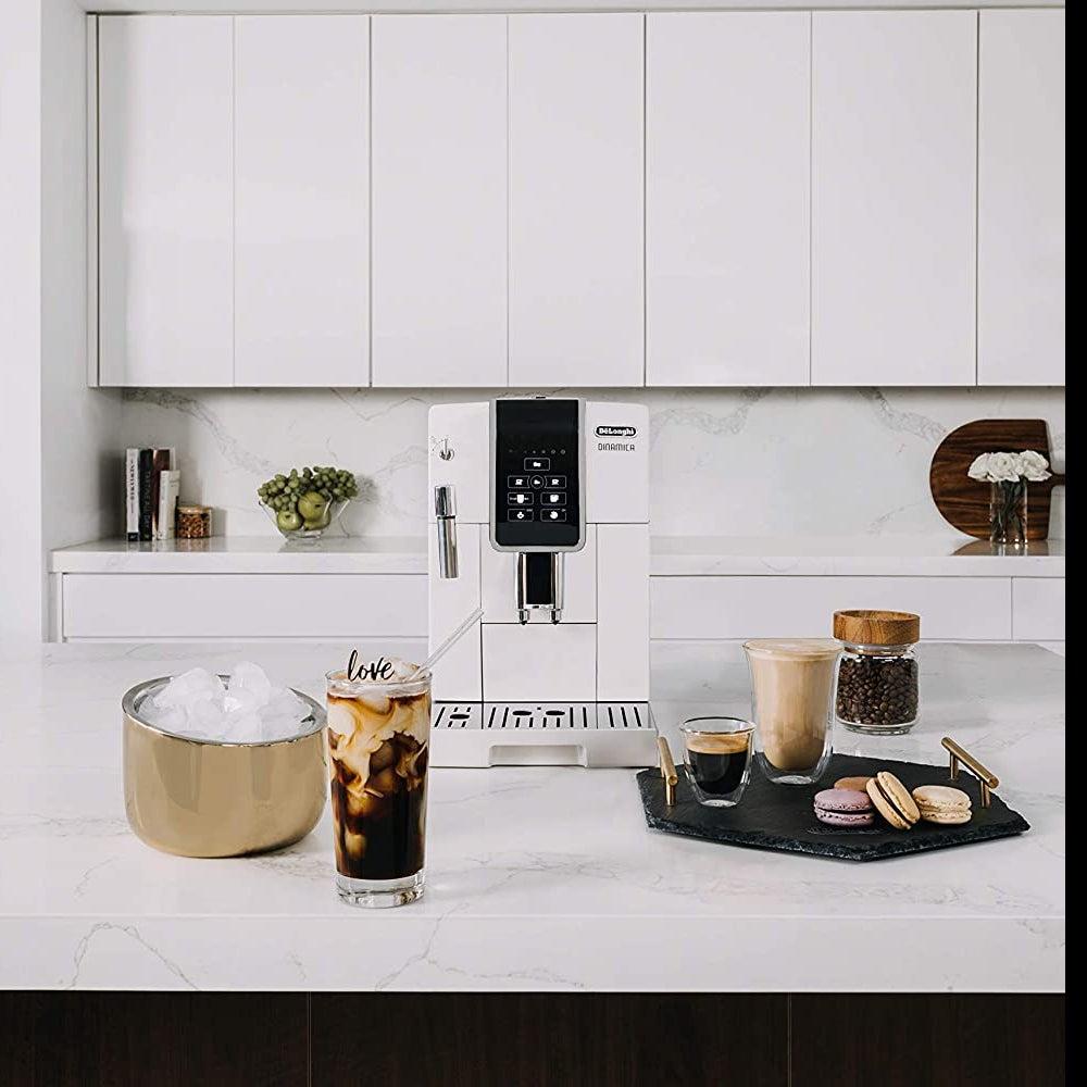 Best Home Espresso Machine Overall: De'Longhi Dinamica ECAM35020 ($1,199)