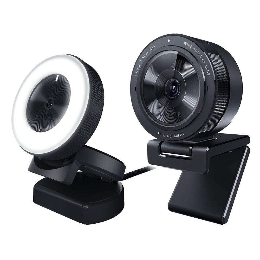 Best Webcam for MacBook Pro: Razer Kiyo ($84) or Kiyo Pro ($200)
