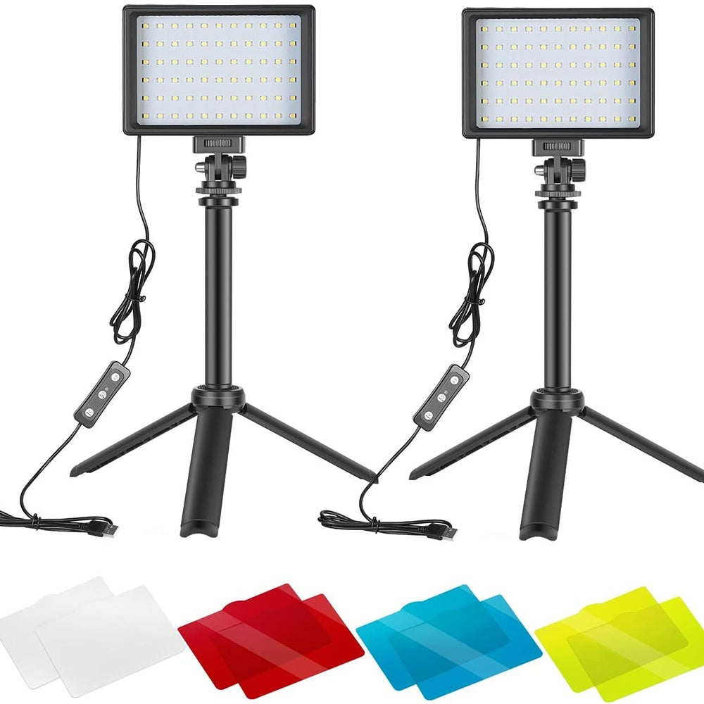 Best 2-Pack: Neewer Portable Photography Lighting Kit ($33)