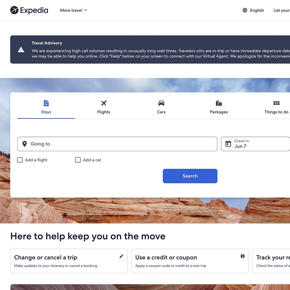 Best for Booking: Expedia