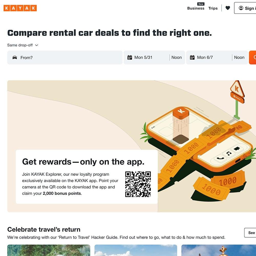 Best Comparison Site: Kayak