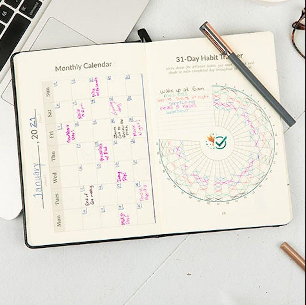 The Habit Nest Daily Planner