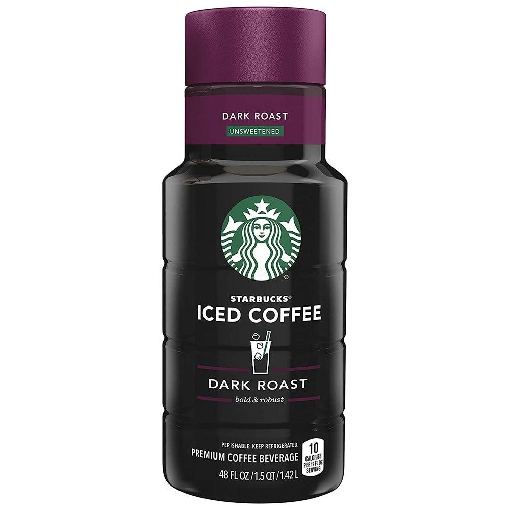Best Iced Coffee: Starbucks Dark Roast